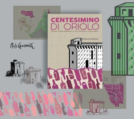 """La mia grafica per """"Centesimino di Oriolo - Un raro vitigno romagnolo, il suo territorio e i suoi vignaioli"""". Scritto da Francesco Falcone, Quinto Quarto Edizioni. Per l'amico-editore-impaginatore Marco Ghezzi ho realizzato la copertina, le mappe e gli altri elemti grafici per le pagine interne. #Centesimino #disegniGrassilli #wine #italianWine #books #vignaioliIndipendenti #Oriolo #QuintoQuarto"""