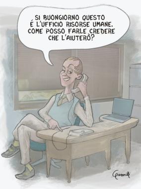 """""""Risorse Quasi Umane"""" P&C"""