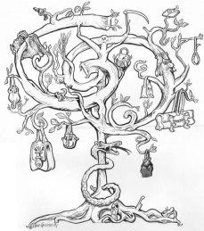 """Illustrazioni per un brano di Lia Celi uscito su Cuore l' 1/4/1995: """"Pelli e dannati: Milano impazzisce per un Gucci conciato male"""". Il pezzo venne scritto conseguentemente all'uccisione di Maurizio Gucci, erede della grande dinastia di stilisti fiorentini. #disegniGrassilli #Cuore #satire #caracters #cartoon #Gucci #LiaCeli"""