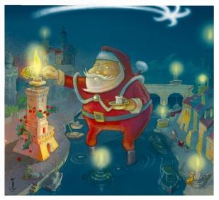 "Copertina per L'Arengo: ""Natale"", dic. 2008"
