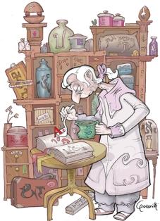 """Illustrazioni per Alias: """"Lingue impossibili"""" luglio 2006"""