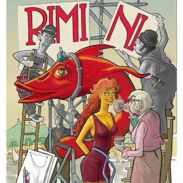 """""""RIMINI"""" cm 23 x 29"""