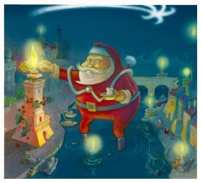 "Copertina per L'Arengo: ""Natale"", dic. 2007"